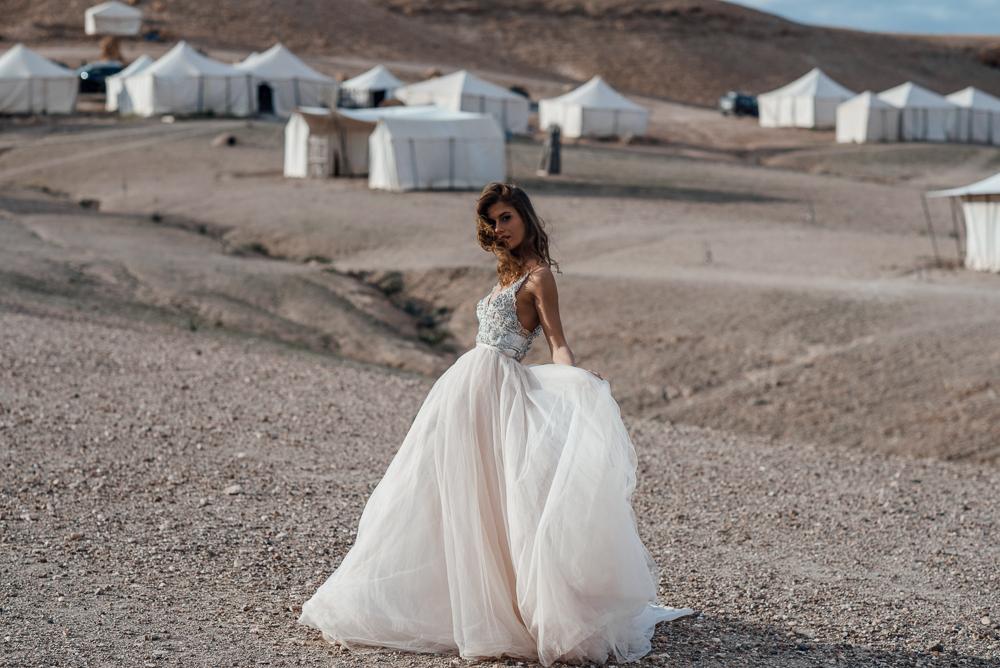 Galiah Lahav Bridal Shoot at Scarabeo Camp in Marrakech
