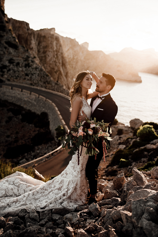 After Wedding Shooting Cap de Formantor